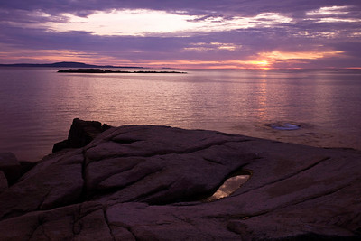 Thunder Hole at dawn