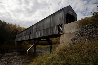 Covered Bridge French Village, New Brunswick