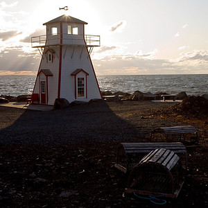 Lighthouse Arisaig, Nova Scotia