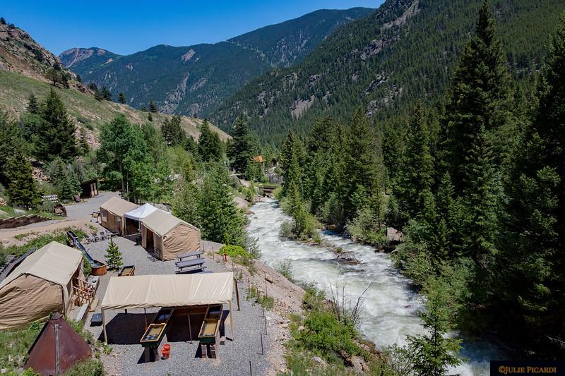 The Everett Mining Camp.