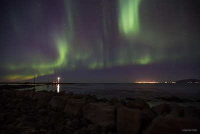 Northern Lights at Grotta