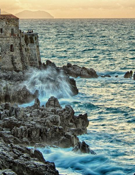 Cefalú's Rocky Coast