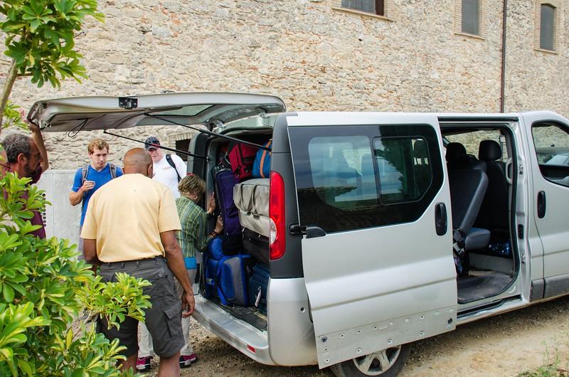 Packing the Van