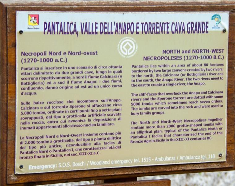 Pantalica Gorge