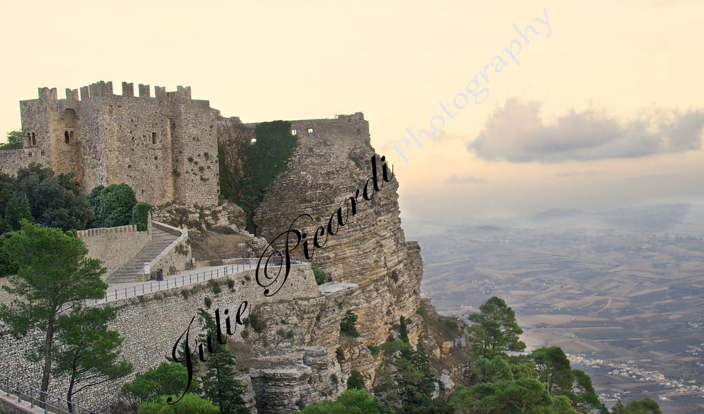 Castle in Erice Sicily