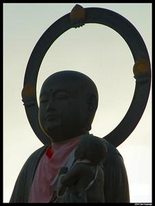 Statue at Konkaikomyoji