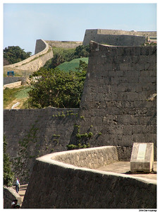 The walls of Shuri-jo Castle
