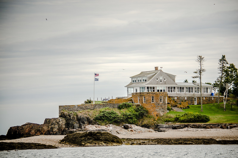 Approaching Eagle Island