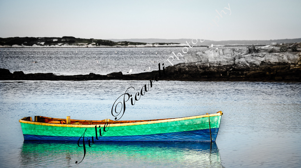Another Colorful Dinghy