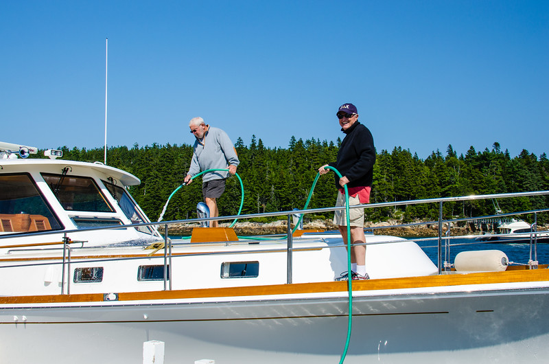Captain Len and First Mate Jimmy