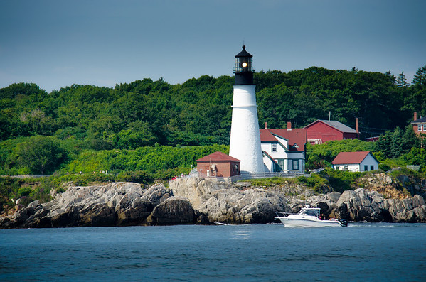 Active Lighthouse in Portland, ME