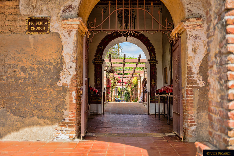 Entrance to the old cathedral.