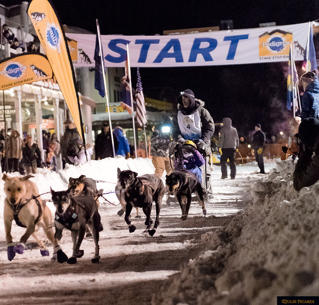 It starts in Jackson, WY and winds through 4 states and  covers over 300 miles in the course of one week.