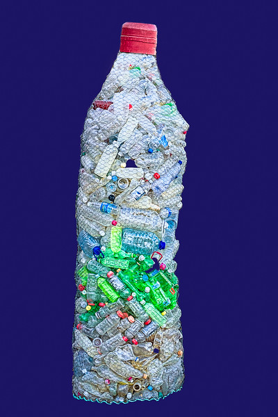 """""""Recycling Project"""" Honorable Mention/3rd Place - Colorado Environmental Film Festival Photography Exhibit 2020"""