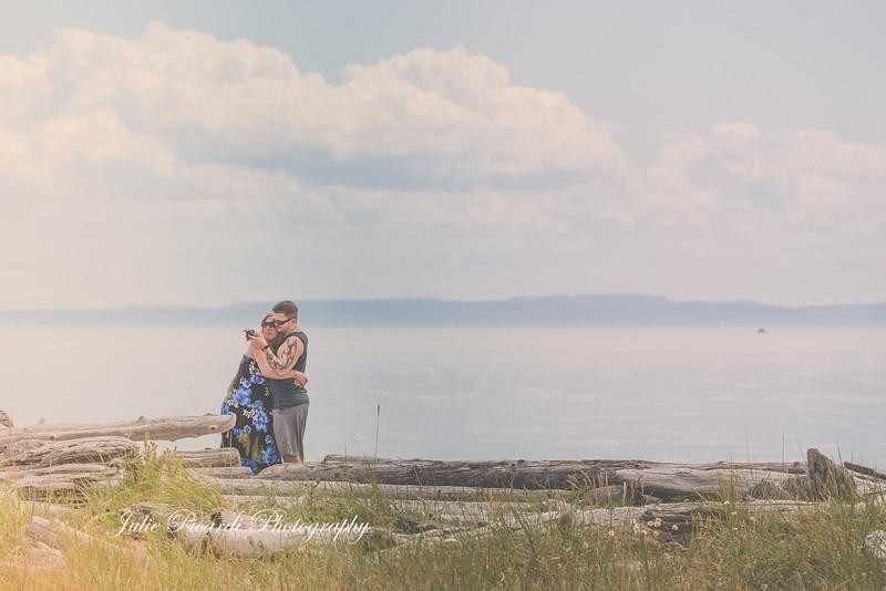 Lovers on the beach
