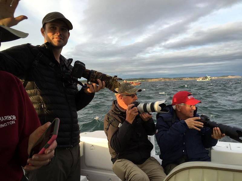 Rough seas don't stop these guys!