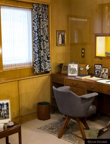Desk of Prince Philip.