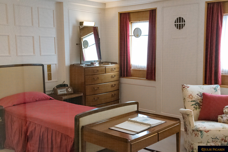 Stateroom of Prince Philip.