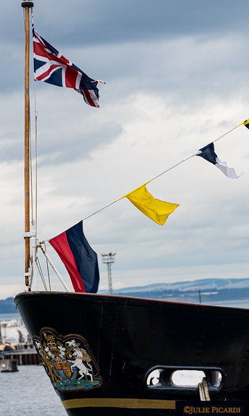 The Britannia, royal yacht of Queen Elizabeth and Prince Philip, served the monarchy from 1954 - 1997.