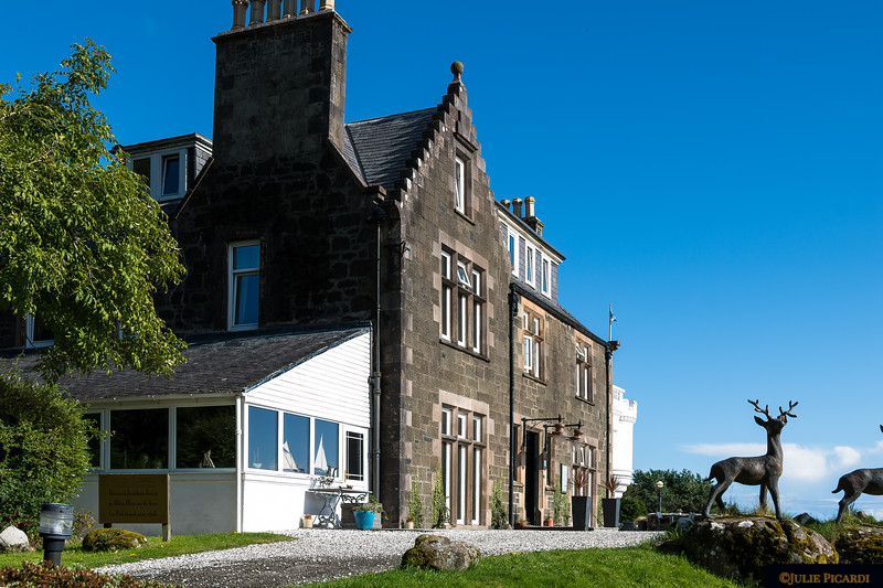 The Flodigarry Hotel used to be a private  hunting lodge many years ago.