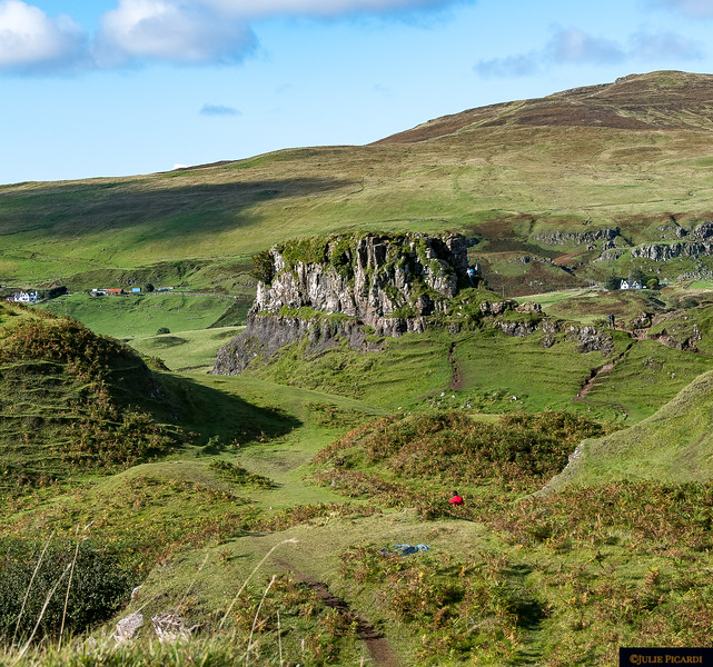 Overview of the Fairy Glen as we hiked in.