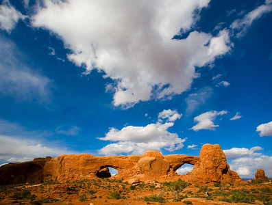 North and South Window, Arches National Park
