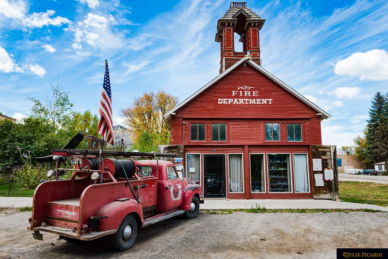 The old fire department, now an art gallery.