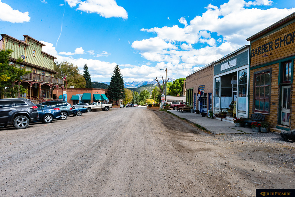 Modern meets Old West in Ridgway.