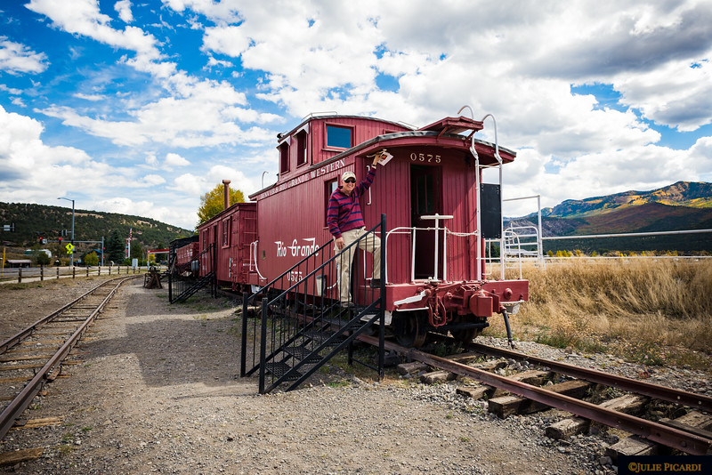 This museum allows one to step onto the old, restored trains and step back in time.
