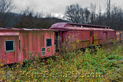 Asheville Abandoned Train0016
