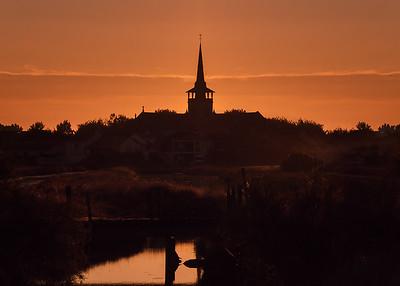 Sunrise at L'île d'Olonne, Vendée