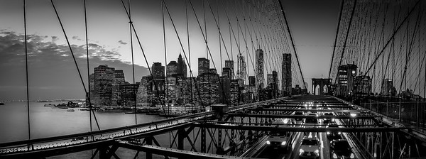 Brooklyn Bridge, New York, Novembre 2016