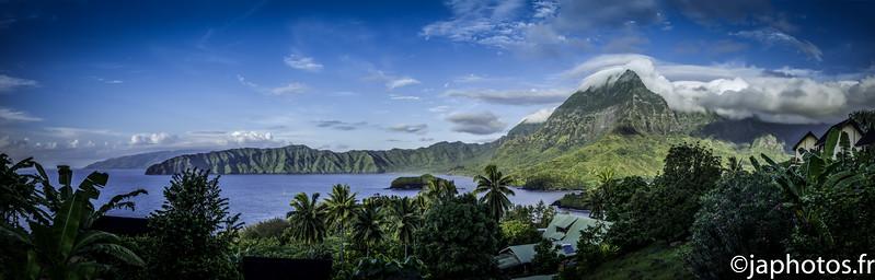 Atunoa Bay, Hiva Oa, Marquesian Islands