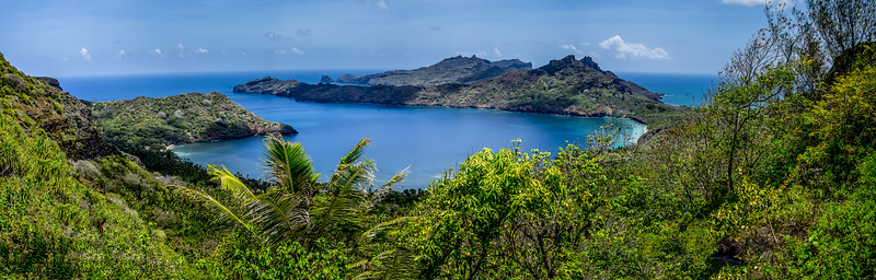 Anaho Bay, Nuku Hiva Island, French Marquisian Island