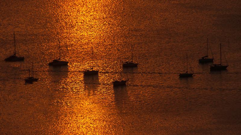 Sunset - Golden Hour in Tahiti