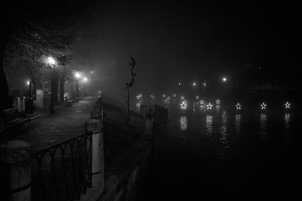 A Foggy Christmas Night...