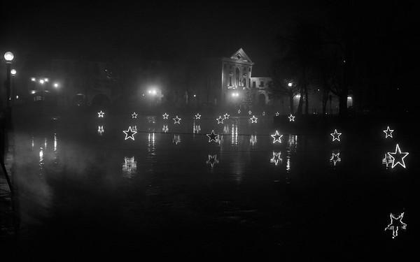 Foggy Stars...