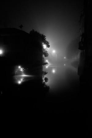 Foggy Water...