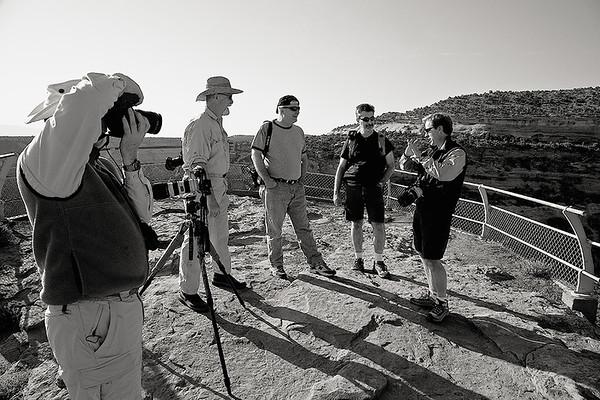 """<i>Skip, Jim, Ian, David, and Marc. Colorado National Monument, CO</i>  <a href=""""http://dkoyanagi.smugmug.com/gallery/2955203#159687307"""">My photos from Colorado National Monument.</a>"""