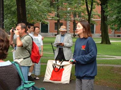 Harvard University Walking Tour