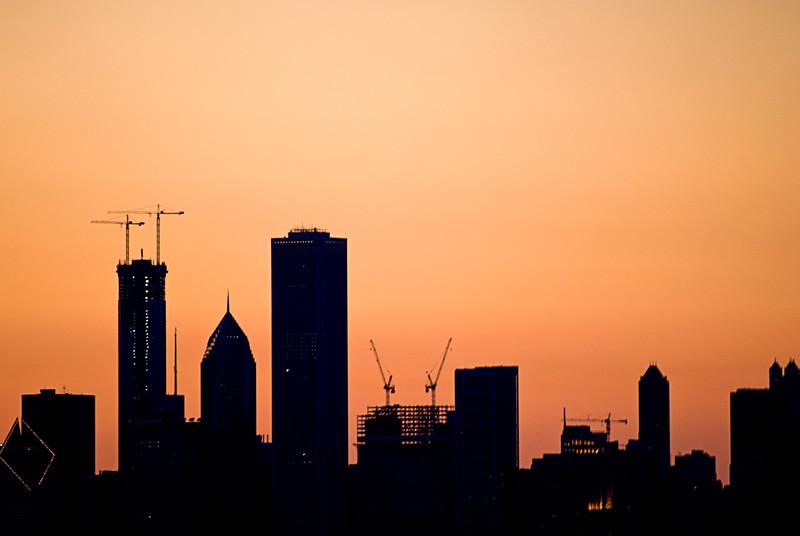 Skyline under construction