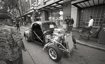 Hot Rod Voigtlander R3M, Ilford Delta 100