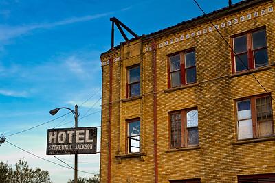 Hotel Stonewall Jackson in San Benito, Texas.