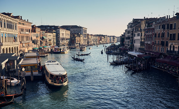 The Grand Canal!