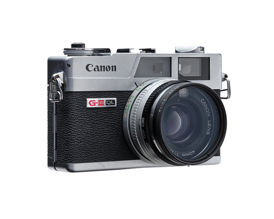 Canon G-III QL Camera - Right Side View