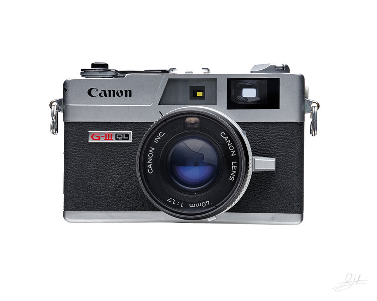 Canon G-III QL Camera - Front View