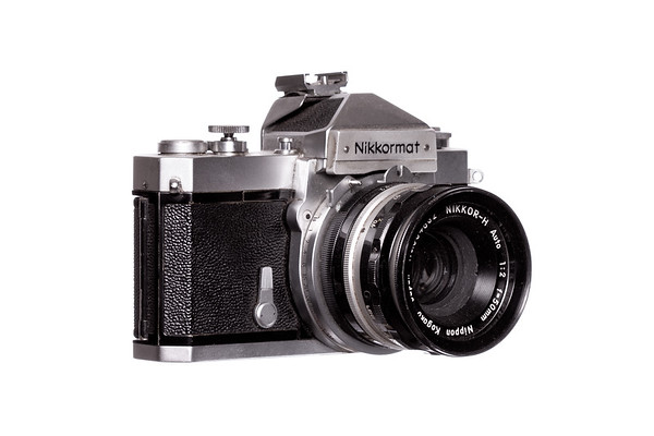 Vintage Camera Kikkormat Right Side View