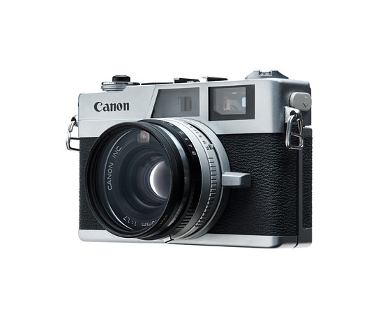 Canon G-III QL Camera - Left Side View