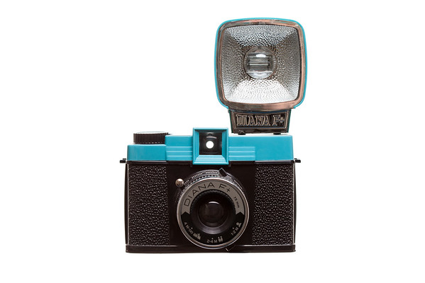 Diana F+ Front View w/Flash
