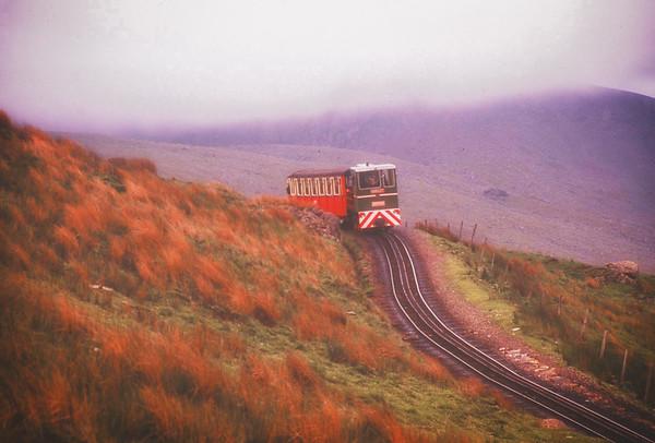 Snowdon Railway 1991